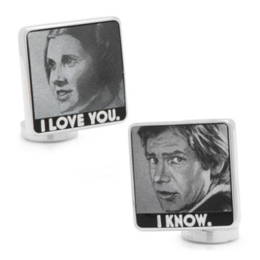 jcpenney.com | Star Wars™ I Love You I Know Cuff Links