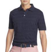 IZOD® Short-Sleeve Solid Textured Polo