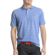 IZOD® Short-Sleeve Striped Performance Polo