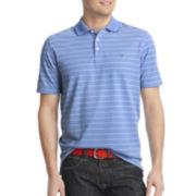 IZOD® Short-Sleeve Striped Performance Polo