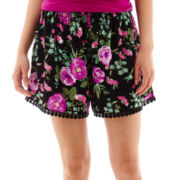 Decree® Crochet-Trimmed Soft Shorts