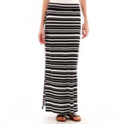 a.n.a® Side-Slit Wide-Waistband Maxi Skirt