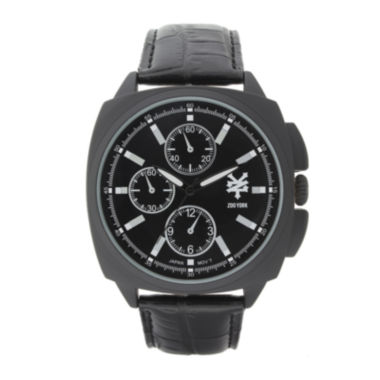 jcpenney.com | Zoo York® Mens Black Strap Watch