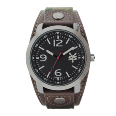 jcpenney.com | Zoo York® Mens Brown Camouflage And Black Strap Watch