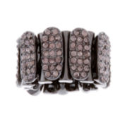 Mixit™ Hematite Crystal Stone Stretch Ring