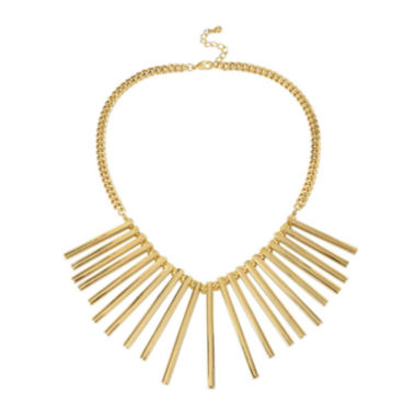 jcpenney.com | Worthington® Gold-Tone Spike Collar Necklace