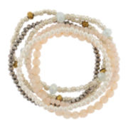 Decree® 6-pc Bead Bracelet Set
