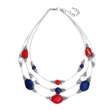 jcpenney.com | Studio by Carol Dauplaise Multi-Row Illusion Necklace