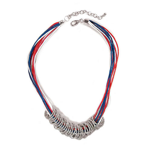 Studio by Carol Dauplaise Cord Ring Necklace