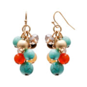 Mixit™ Multi-Bead Cluster Earrings