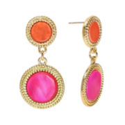 Studio by Carol Dauplaise Double Drop Earrings