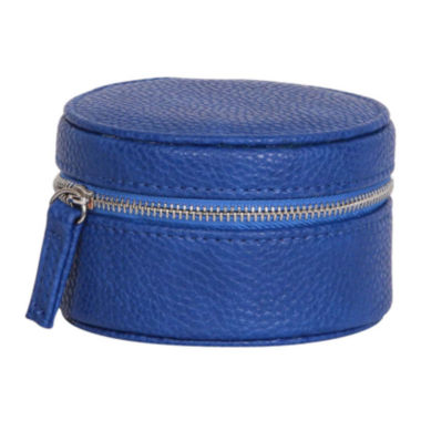 jcpenney.com | Mele & Co. Joy Blue Faux-Leather Jewelry Travel Case
