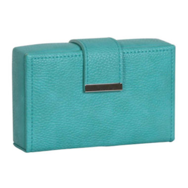 jcpenney.com | Mele & Co. Turquoise Faux Leather Travel Jewelry Case