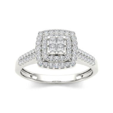 jcpenney.com | 1/2 CT. T.W. Diamond 14K  Gold Engagement Ring