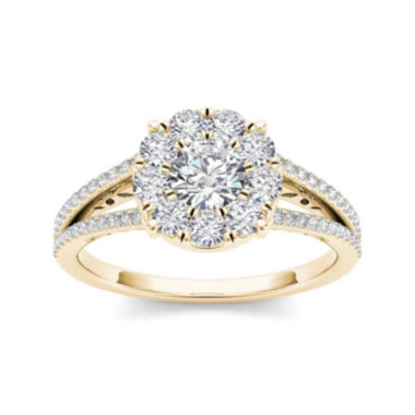 jcpenney.com | 1 CT. T.W. Diamond 10K Yellow Gold Engagement Ring