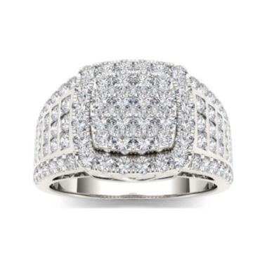 jcpenney.com | 1 1/2 CT. T.W. Diamond 10K White Gold Engagement Ring