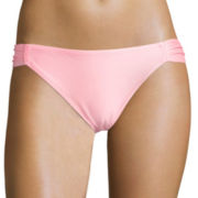 Arizona Solid Hipster Swim Bottoms - Juniors