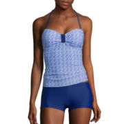Arizona Tile Wave Bandeaukini Swim Top or Boyshort Swim Bottoms - Juniors