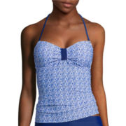 Arizona Tile Wave Bandeaukini Swim Top - Juniors