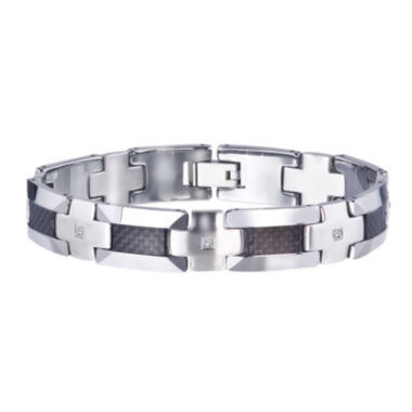 jcpenney.com | Mens 1/3 CT. T.W. Color-Enhanced Black Diamond Bracelet