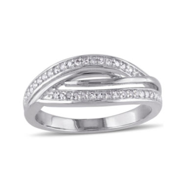 jcpenney.com | 1/7 CT. T.W. Diamond Sterling Silver Ring