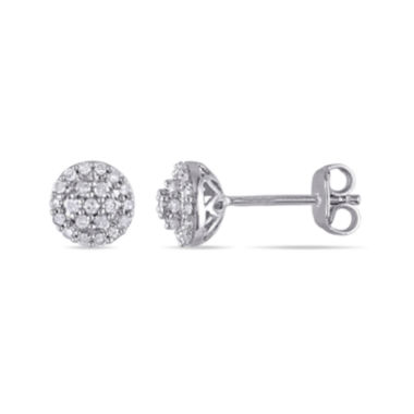 jcpenney.com | 1/4 CT. T.W. Diamond Sterling Silver Earrings