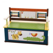 Levels of Discovery® Jungle Jingle Bench Seat