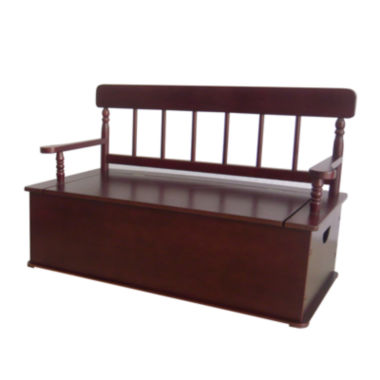 jcpenney.com | Levels of Discovery® Cherry-Finish Bench Seat