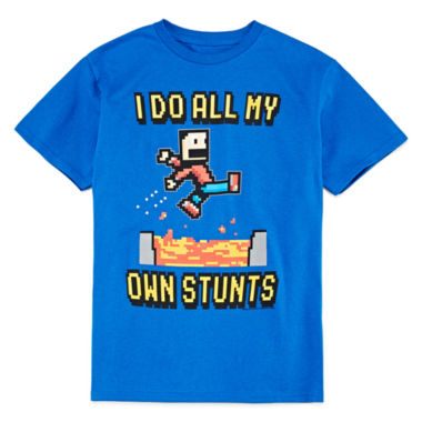 jcpenney.com | Novelty One Liner Short-Sleeve Graphic Tee - Boys 8-20