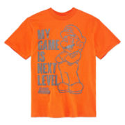 Super Mario Short-Sleeve Tee - Boys 8-20