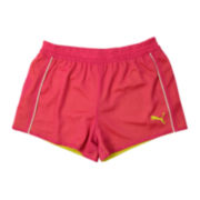Puma® Double Mesh Shorts - Girls 7-16
