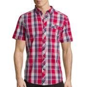 Ecko Unltd.® Short-Sleeve Tribeca Woven Button-Front Shirt