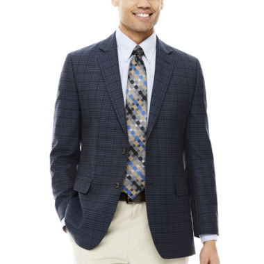 jcpenney.com | Stafford® Travel Check Sport Coat - Classic-Fit