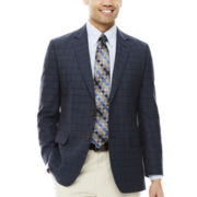 Stafford® Travel Check Sport Coat - Classic-Fit