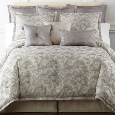 jcpenney.com | Royal Velvet® Adagio 4-pc. Comforter Set