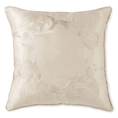 jcpenney.com | Royal Velvet® Adagio Square Embroidered Decorative Pillow