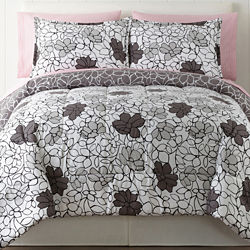 Home Expressions Elissa Floral Complete Bedding Set with Sheets