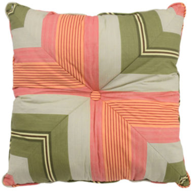 jcpenney.com | Waverly® Wailea Coast Square Stripe Decorative Pillow
