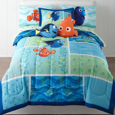 Disney® Finding Dory Twin/Full Reversible Comforter + BONUS Sham