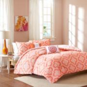 Intelligent Design Elena Reversible Comforter Set