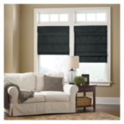 JCPenney Home™ Custom Cotton Duck Thermal Roman Shade