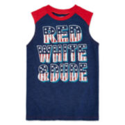 Arizona Graphic Muscle Tee - Boys 8-20
