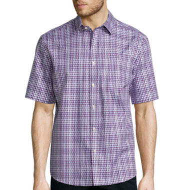 jcpenney.com | Claiborne® Short-Sleeve Woven Shirt