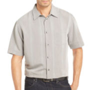 Van Heusen® Short-Sleeve Striped Shirt