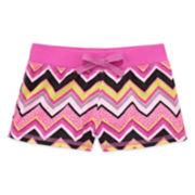 Okie Dokie® Easy Print Shorts - Toddler Girls 2t-5t