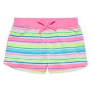 Okie Dokie® Print Shorts - Preschool Girls 4-6x