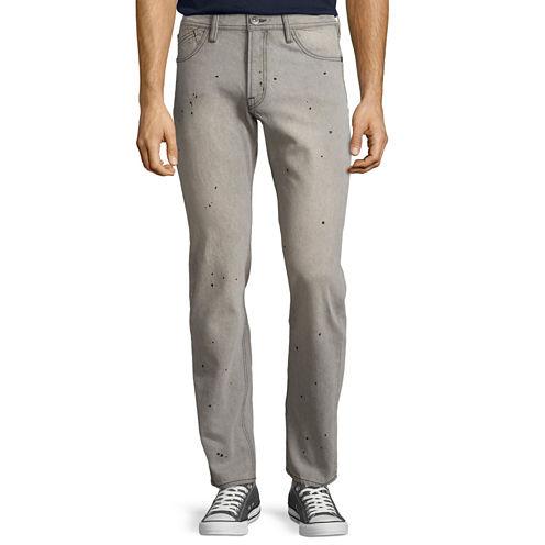 J Crown Slim Straight Jeans