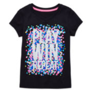 Xersion™ V-Neck Graphic Tee - Preschool Girls 4-6x