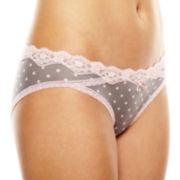 Maidenform® Lace Micro Bikini Panties