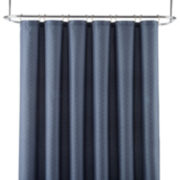 Royal Velvet® Diamond Jacquard Shower Curtain